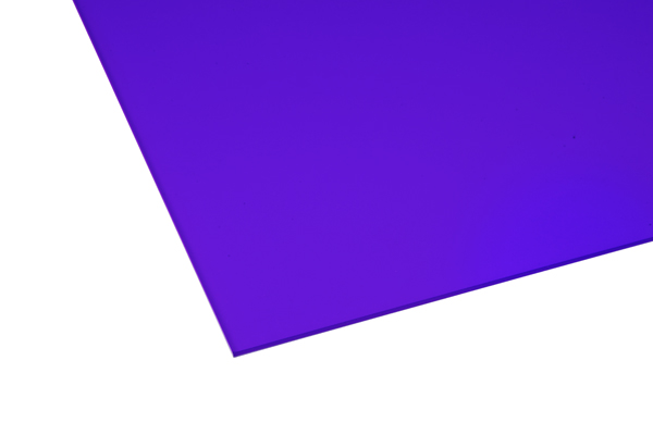 Cast Acrylic Sheet Opaque Purple 600 x 400 x 3mm – Central