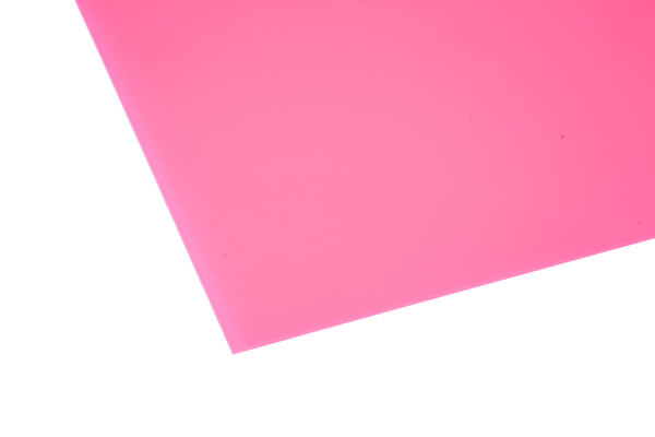 Cast Acrylic Sheet Opaque Pink 1000 x 500 x 3mm – Central